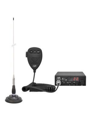 CB PNI ESCORT Sada rádiových stanic HP 8000L ASQ + Anténa CB PNI ML100