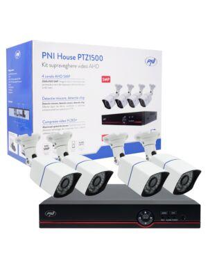 AHD PNI House PTZ1500 video monitorovací sada